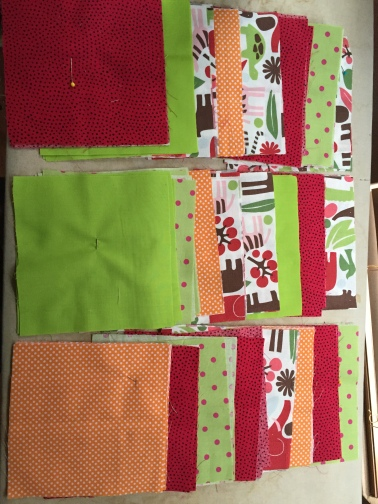 Start of baby quilt.